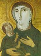 afb1 Madonna met Kind, 5de eeuw