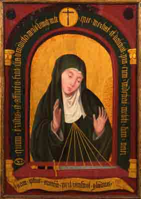 Maria als Moeder van Smarten, noordelijk deel van het Hertogdom Brabant, ca. 1520