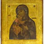 Moeder Gods van Kostroma (Feodrovskaja), Rusland, ca. 1820