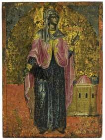 De heilige Zenobia, Griekenland, ca. 1650