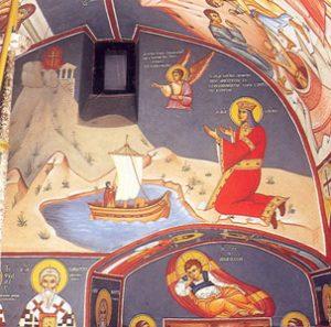 De Heilige Helena sticht het klooster