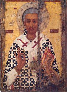 Agios Lazaros, 17e-eeuwse ikoon in de gelijknamige kerk