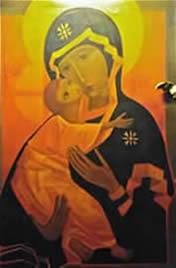 Moeder gods van Taize
