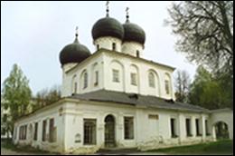 Kathedraal van Maria Geboorte, 1117-19,Antoniusklooster, Novgorod