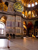 Aya Sophia, Istanbul, interieur