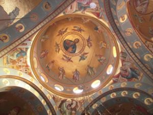 4. Ceiling holy sepulchre