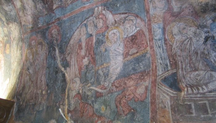 Frescos in Old Churches in Crete (a travelogue)