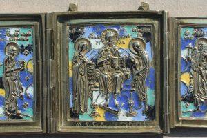 Metalen ikonenkunst. Een zoektocht naar Meester Rodion Semjonovitsj Chroestaljov